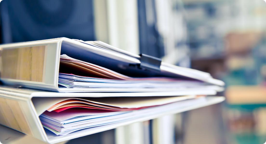 Die erforderlichen Unterlagen für eine Qualitätsprüfung
