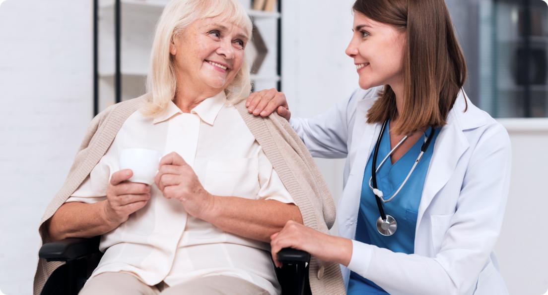 Vergessen Sie nicht, die äußeren Vorzüge älterer Menschen zu betonen!